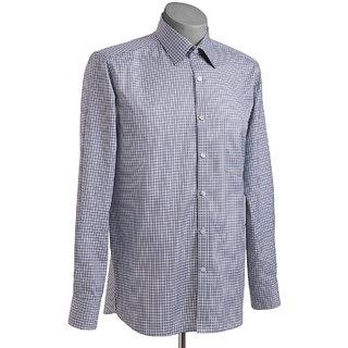 MuHeNeRa Regular Fit Red And White Stripes Men's Shirt