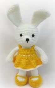 Hand-Made Crochet Girl Bunny