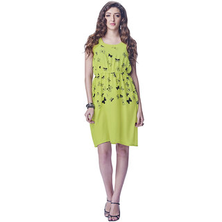 Lovely Look Green Printed Stitched Kurti LLKDIV227XXL