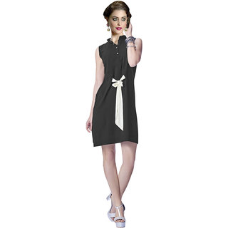 Lovely Look Black Solid Stitched Kurti LLKDIV228L