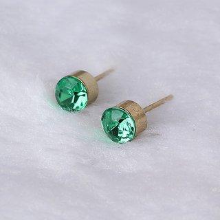 2 pairs of 2016 Fashion Simple Vintage Crystal Stud Earrings
