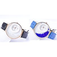 Women Wadding Black And Blue Combo Of Two party Analog Girls Watch