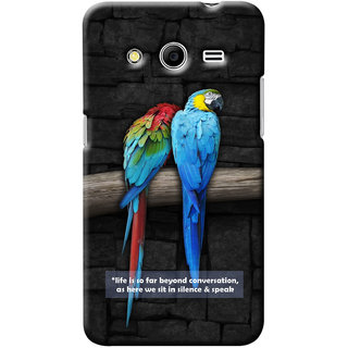 G.Store Hard Back Case Cover For Samsung Galaxy Core 2 19035
