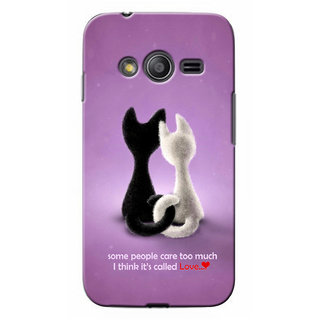 G.Store Hard Back Case Cover For Samsung Galaxy Ace 4 18843