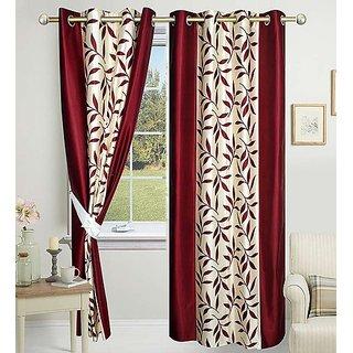 BSB Trendz Printed Eyelet Door Curtain (PS33) (single Piece)