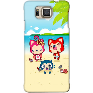 G.Store Hard Back Case Cover For Samsung Galaxy Alpha 18945