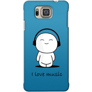 G.Store Hard Back Case Cover For Samsung Galaxy Alpha 18948