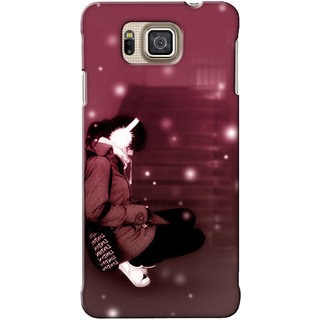 G.Store Hard Back Case Cover For Samsung Galaxy Alpha 18951