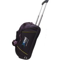 Xccess Purple Fabric Duffle Trolley (2 Wheels)