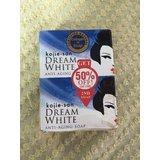 KOJIE SAN DREAM WHITE ANTI-AGING SOAP- 2 BARS OF 135G