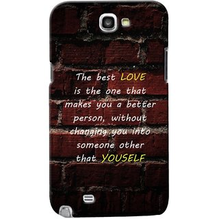G.Store Hard Back Case Cover For Samsung Galaxy Note 2 20621
