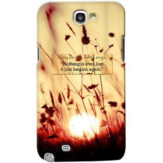 G.Store Hard Back Case Cover For Samsung Galaxy Note 2 20628