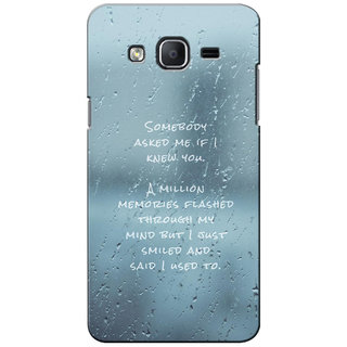 G.Store Hard Back Case Cover For Samsung Galaxy On5 21296