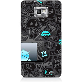 G.Store Hard Back Case Cover For Samsung Galaxy S2 21525