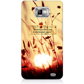G.Store Hard Back Case Cover For Samsung Galaxy S2 21528