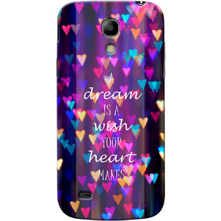 G.Store Hard Back Case Cover For Samsung Galaxy S4 Mini 21974