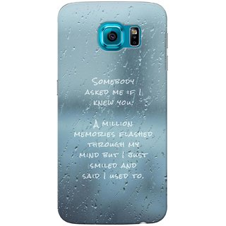 G.Store Hard Back Case Cover For Sumsung Galaxy S6 22196