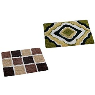 AAZEEM Cottom Door Mat Pack of 2 (SH2080)