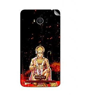Instyler Mobile Skin Sticker For Asus Zenfone Max Zc550Kl MSASUSMAXZC550KLDS-10093