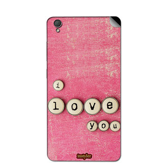 instyler MOBILE SKIN STICKER FOR GIONEE F 103