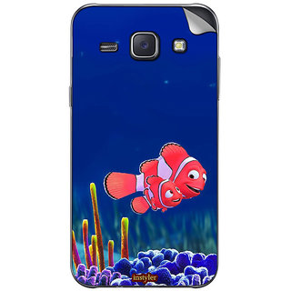 instyler MOBILE SKIN STICKER FOR SAMSUNG GALAXY J1
