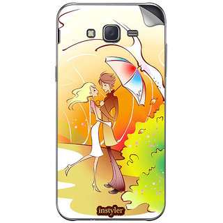 instyler MOBILE SKIN STICKER FOR SAMSUNG GALAXY TIZEN Z1