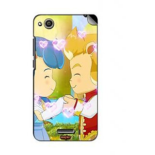 instyler MOBILE SKIN STICKER FOR GIONEE GN 715