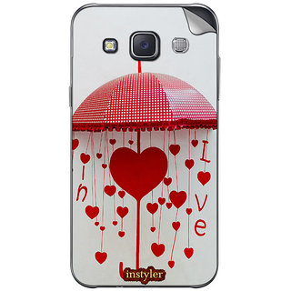 Instyler Mobile Skin Sticker For Samsung Galaxy Grand Max  MssgGrandmaxDs-10124