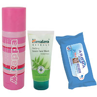 Comb Of Kappa Deo, Himalaya Neem Face Wash And Aroma Wit Wipes