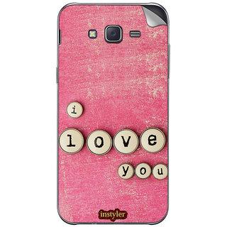 Instyler Mobile Skin Sticker For Samsung Galaxy Core Prime  MssgCoreprimeDs-10126