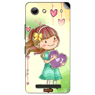 Instyler Mobile Skin Sticker For Gionee Elife S Plus MsgioneeSplusDs-10061