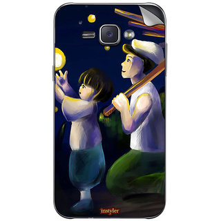 Instyler Mobile Skin Sticker For Samsung Galaxy J1 Ace MssgJ1AceDs-10051