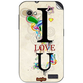 Instyler Mobile Skin Sticker For Gionee Gpad G2 MsgioneeGpadg2Ds-10122