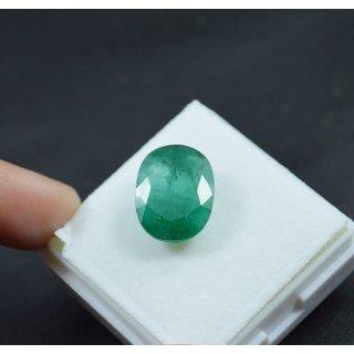 Sangita Gems 6 Ct Natural Beautiful Emerald Panna Loose Birth/Astrological Gemstone EM52