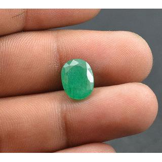 Sangita Gems 4.3 Ct Natural Beautiful Emerald Panna Loose Birth/Astrological Gemstone EM59