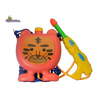 Toyzstation Lion Water Tank Pichkari With Free Balloons Assorted