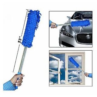 Multipurpose Microfiber Duster with Long Aluminium Handle