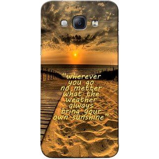G.Store Hard Back Case Cover For Samsung Galaxy A8 18626