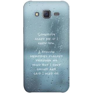 G.Store Hard Back Case Cover For Samsung Galaxy J5 20296
