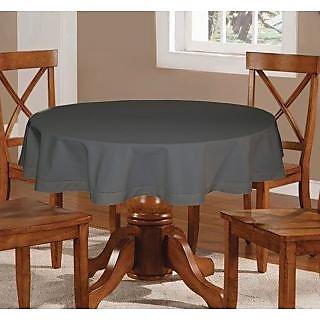 Lushomes  Plain Sedona Sage Round Table Cloth - 4 seater