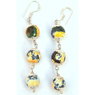 JODHPURIYAS TRUE VALUE REAL GEM STONE (MULTY COLOR) HAND MADE EARRING FOR WHO WANT WEAR REAL GEMS