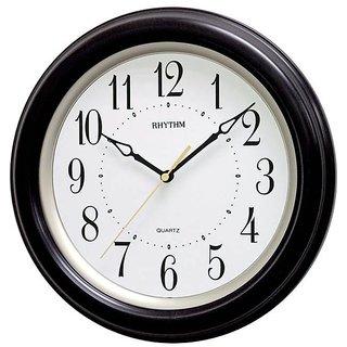 Rhythm Wall Clock Brown