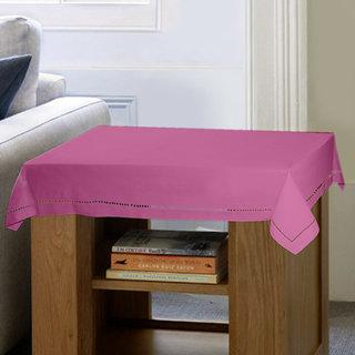 Lushomes Plain Bordeaux Side Table Cloth