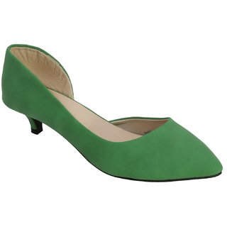 Belson Women's Green Heels