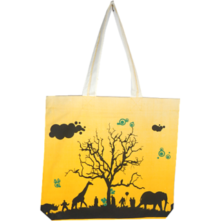 Alle Tote Bag Yellow (ACTB-7)