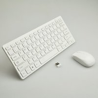 Wireless Mouse Keyboard Combo For Apple Design 2.4ghz U