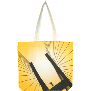 Alle Tote Bag Yellow (ACTB-10)