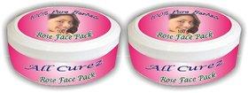 Rose Face Pack (Set of 2)