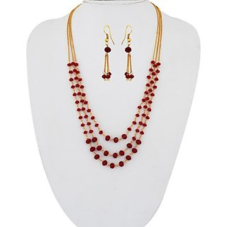 SthriElite Alloy Jewel Set         (Red)