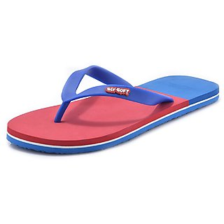 e6150cc64077 Buy SLV-Soft Mens Blue Flip-Flops and House Slippers Online   ₹247 ...